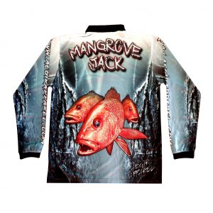 Aegir Mangrove Jack Long Sleeve Fishing Shirt